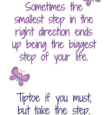 TAKE THE FIRST STEP - DON'T PUT IT OFF! TO VIEW PAGE - CLICK HERE